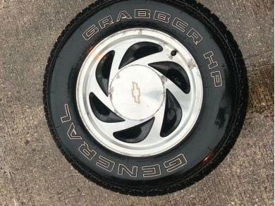 Chevrolet CHEVY BLAZER ALLOYS x 4 - Chevrolet Blazer Wheels x 4 - Chevrolet Blazer Parts