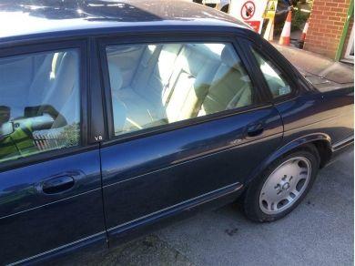 Jaguar XJ Sport Door - XJ8 Door - XJ Rear Door - LH Rear Door Shell - Blue 1999