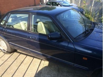 Jaguar XJ Sport Door - XJ8 Door - XJ Front Door - RH Front Door Shell Blue 1999