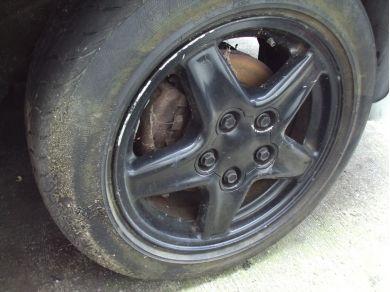 Chevrolet CHEVROLET CAMARO Z28 Right Front Alloy Wheel K416SAF