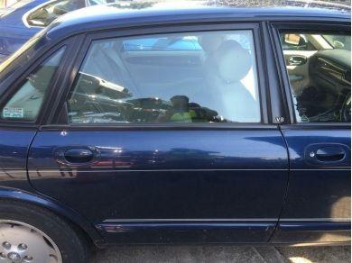 Jaguar XJ Sport Door - XJ8 Door - XJ Rear Door - RH Rear Door Shell - Blue 1999