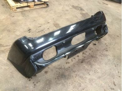 BMW Rare 4.8is 4.6is Rear Bumper Lower Valance Spoiler In Black Genuine 2000-06