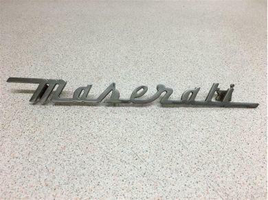 Maserati 3200 Boot Lid Badge - 386100132 - Maserati Badge - Maserati Emblem
