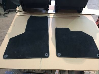 Lamborghini Huracan LP610-4 Spyder CARPET MATS OVER MATS FOOT MATS