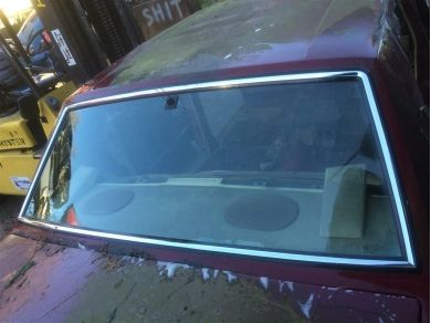 Rolls Royce Rear Screen - Rolls Royce Rear Windscreen - Silver Spur Back Window