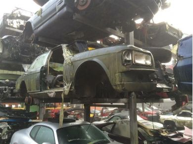 rolls royce body shell - bentley turbo r body shell remains - bentley parts