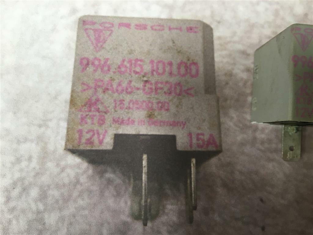 Porsche Boxster 986 Fuel Pump Relay - 996 615 101 00 996 Fuel Pump Relay