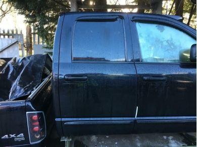 Dodge Ram Door Glass - Dodge Ram Rear Door Glass - Right Rear Door Glass - 03