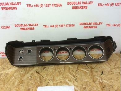 Unbranded MOPAR E BODY 70 - 74 CUDA CHALLENGER RALLYE DASH CLOCKS SWITCH PANEL TRIM BEZEL