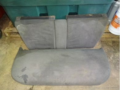 Citroen DS23 Rear Seat DS23 Rear Bench Seat DS23 Pallas Passenger Seat