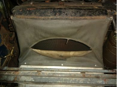 Citroen DS23 Radiator Cowl DS23 Radiator Air Duct DS23 Rad Cowling