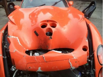 TVR TUSCAN 1 RED ROSE - DAMAGED BONNET SPAIRS OR REPAIR PARTS ONLY NEEDS TLC