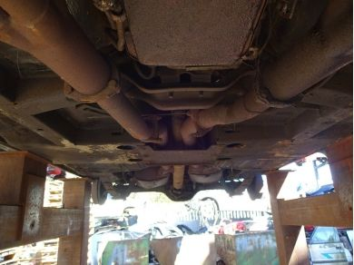 Ford 1972 Ford Mustang Exhaust System 72 Mustang Silencers Mustang Stock Exhaust