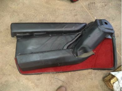 Ferrari Testarossa 1986 Year 61501900 Left side door card Left Side Interior