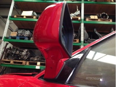 Ferrari 348 Door Mirror F348 Left Hand Side Rosso Red Mirror 62189010