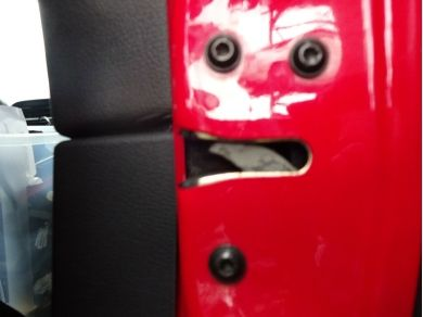 Ford Mustang GT Right Hand Door Lock Mechanism Mustang Door Lock Mech