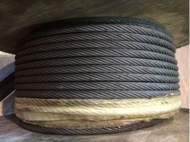 Unbranded Wire Rope 13mm Wire Rope x 102 Mtr Roll 13mm Cable x 102 Mtr Roll