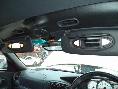 Porsche PORSCHE BOXSTER 986 ILLUMINATING SUN VISORS LN51OLJ 98673103117 A12 -98673103127
