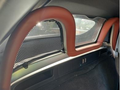 Porsche PORSCHE BOXSTER 986 WIND DEFLECTOR GRILLS BOXSTER WIND DEFLECTOR PARTS DF02 986.561.584.00 - 986.561.583.00