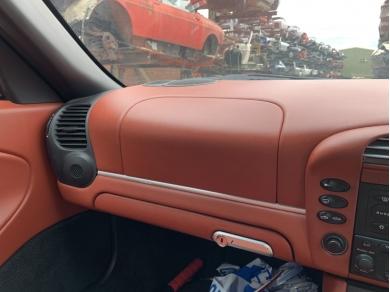 Porsche PORSCHE BOXSTER 986 RED LEATHER DASH AIR BAG PASSENGER SIDE