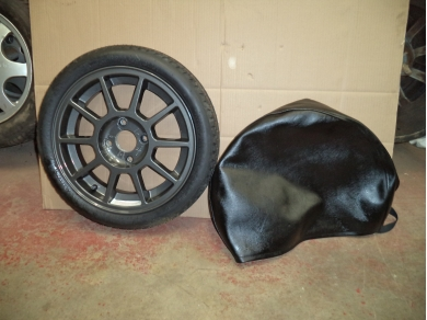 TVR CHIMAERA SPARE WHEEL TVR SPACE SAVER SPARE WHEEL TVR GRIFFITH 0123