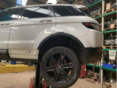 Land Rover Range Rover Evoque Rear Spring & Shock Left Side 2012