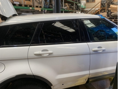 Land Rover Range Rover Evoque Door Glass Rear Right 2012