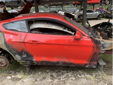 Ford Mustang GT S550 Door Shell Right Side Race Red 2016 Year