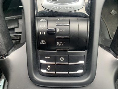 Porsche PORSCHE CAYENNE S 958 2014 SUSPENSION TERRAIN TRACTION CONTROL PANEL