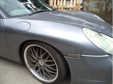 Porsche PORSCHE 911 996 FACELIFT DRIVERS SIDE WING IN SEAL GREY YJ51 XGF