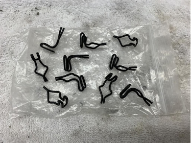 Dodge Charger B Body Door Card Fixing Clips 1969 Dodge Charger Clips x 10