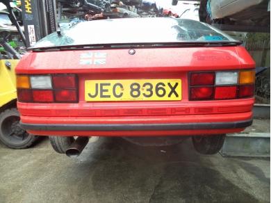 Porsche PORSCHE 924 REAR BUMPER 924 BACK BUMPER JEC836X 477807313