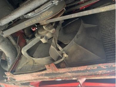 Porsche 944 Radiator Cooling Fan & Shroud Single Fan 1988 Year IJI 9444 94410614102