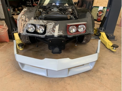Chevrolet Corvette C3 Front Bumper - 1980-1982 - Grey Primer - New