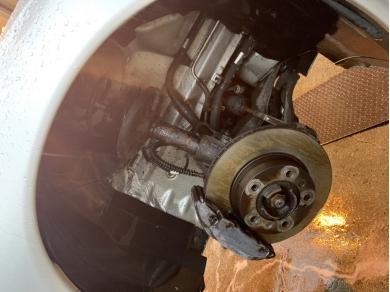 Porsche Boxster 2.5 Rear Brake Calipers - R666 AAD