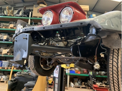 Chevrolet CORVETTE C3 75-82 HEADLIGHT ASSEMBLY COMPLETE NEW - LEFT