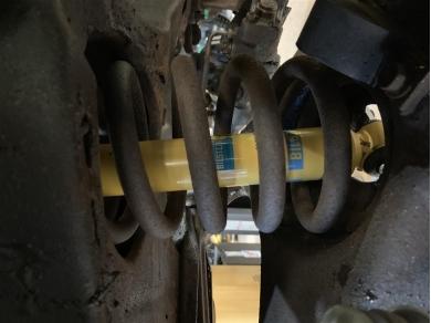 Chevrolet Corvette C3 Front Shock Absorbers 63-82 BILSTEIN FRONT SHOCK ABSORBERS
