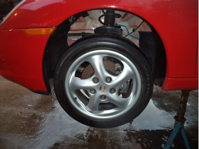 Porsche PORSCHE BOXSTER 986 LEFT HAND SIDE FRONT ARCH LINER W714EOX 99650420306