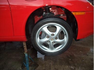 Porsche PORSCHE BOXSTER 986 RIGHT HAND SIDE FRONT ARCH LINER W714EOX 99650420406