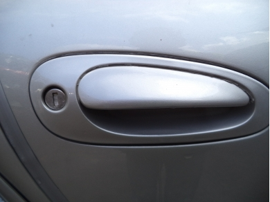 Porsche PORSCHE BOXSTER 986 - 911 996 OS DRIVERS SIDE DOOR HANDLE IN SILVER P700 RRR 986OSHANDLE