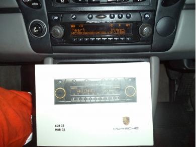 Porsche PORSCHE BOXSTER MDR32 BECKER PORSCHE MINI DISC W714EOX 99664512400