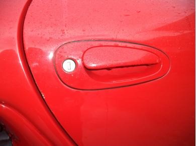 Porsche PORSCHE BOXSTER 986 DRIVERS SIDE DOOR HANDLE W714EOX 99653796402