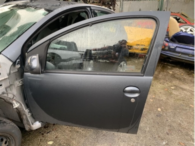 Toyota Aygo Passenger Door Shell Toyota Aygo Left Side Door Shell Grey 2006 Year