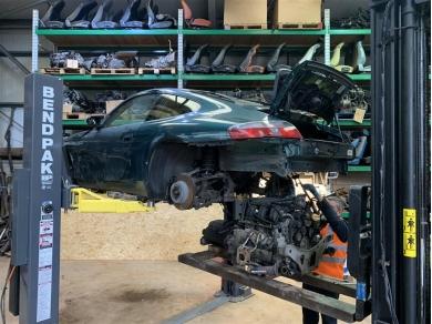 Porsche Carrera 996 3.4 Litre Engine M96.04 Engine Code Serial No. 66117452 99610095102