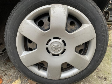 Toyota Aygo Wheel Trim Toyota Aygo 14 Wheel Trim Silver Wheel Trim Genuine