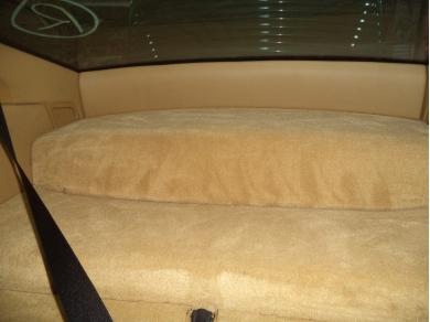 Porsche PORSCHE 911 996 TAN REAR CARPET PANELS FROM BEHIND REAR SEATS Y129 WCE 996CARPET