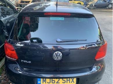 Volkswagen VW Polo MK5 Rear Tailgate C/w. Glass & Wiper 2012 Year VW Polo Mk5 Rear Hatch