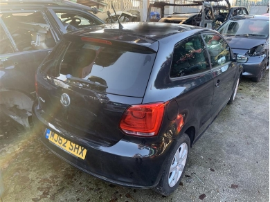 Volkswagen VW Polo Rear Axle Beam Complete With Springs & Brakes 2012 Year Mk5 Polo