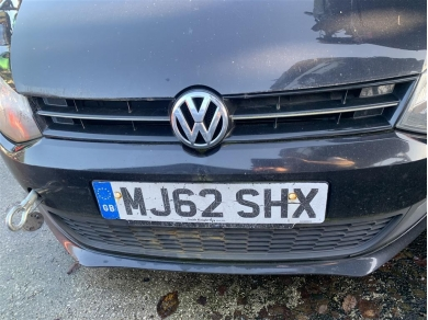 Volkswagen VW Polo Front Grill Mk5 Polo Front Grill 2012 VW Polo Front Grill C/w. VW Badge MK5