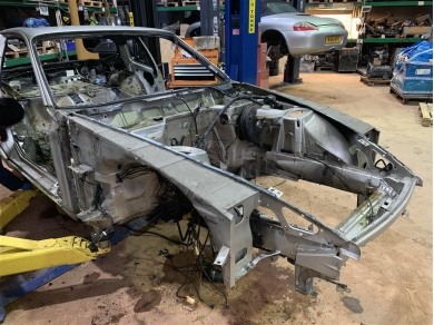 Porsche 968 Body Front Section - 94550101126 - 968 Front End Chassis Cut - LONG